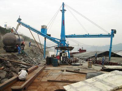 码头移动式卸船机