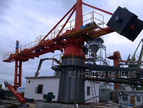 湖北黄石螺旋式卸船机安装调试