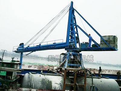 散装水泥卸船机